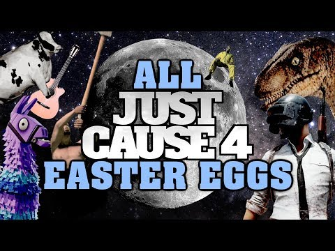 Just Cause 4 All Easter Eggs And Secrets | Part 1