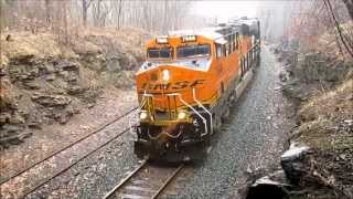 NS Train 13T's EPIC Struggle Uphill at 0.4 MPH!