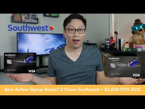 Best Chase Southwest Offers Cards Ev Comp