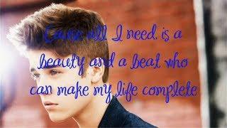 Justin Bieber - Beauty and a Beat [Karaoke / Instrumental] feat. Nicki Minaj with lyrics