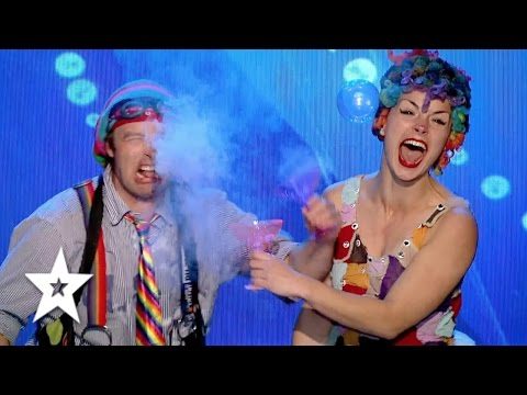Dr.Bubble and Milkshake will make you laugh! | Auditions Week 1 | Românii au talent