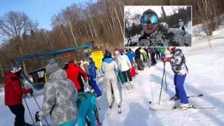 Смотреть видео лоза горнолыжный курорт