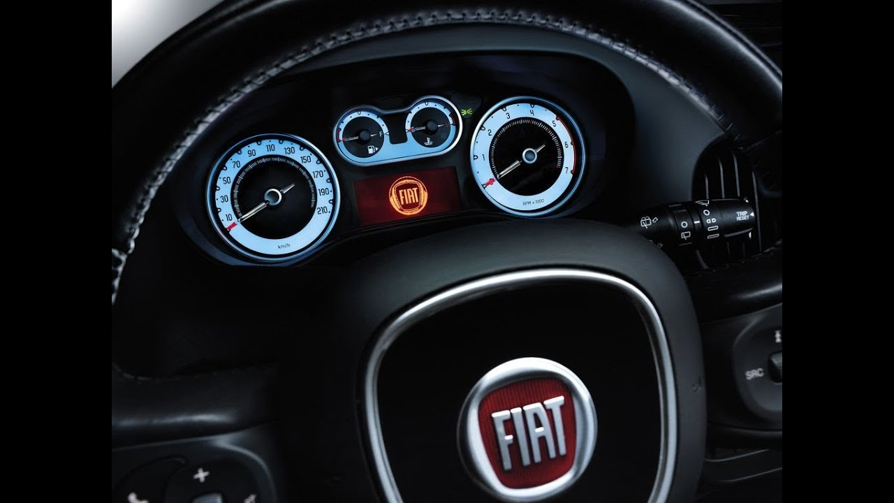 Fiat 500l Cool Capable Gli Interni Interior View