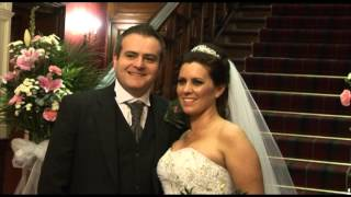 Sherbrooke Castle was the Wedding venue for Mhari and Tony on Friday the 3rd of May 2013
