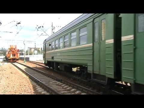 Электропоезд ЭР2Т-7095 станция Звенигород