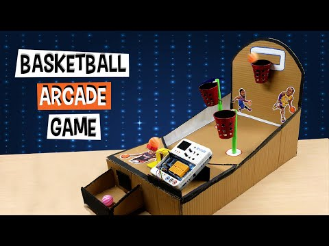 DIY Cardboard Basketball Arcade Game | DIY Projects