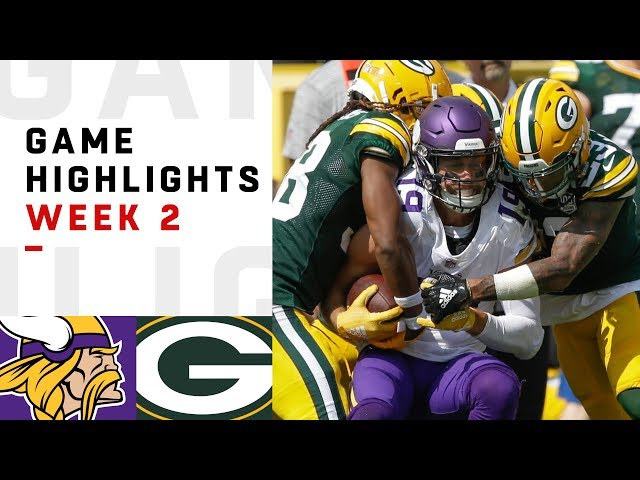 Vikings vs. Packers Week 2 Highlights | NFL 2018