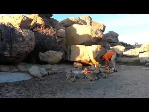Mojave Cross California FREE RV Boondocking!