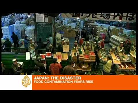 Radiation fears over Japanese food