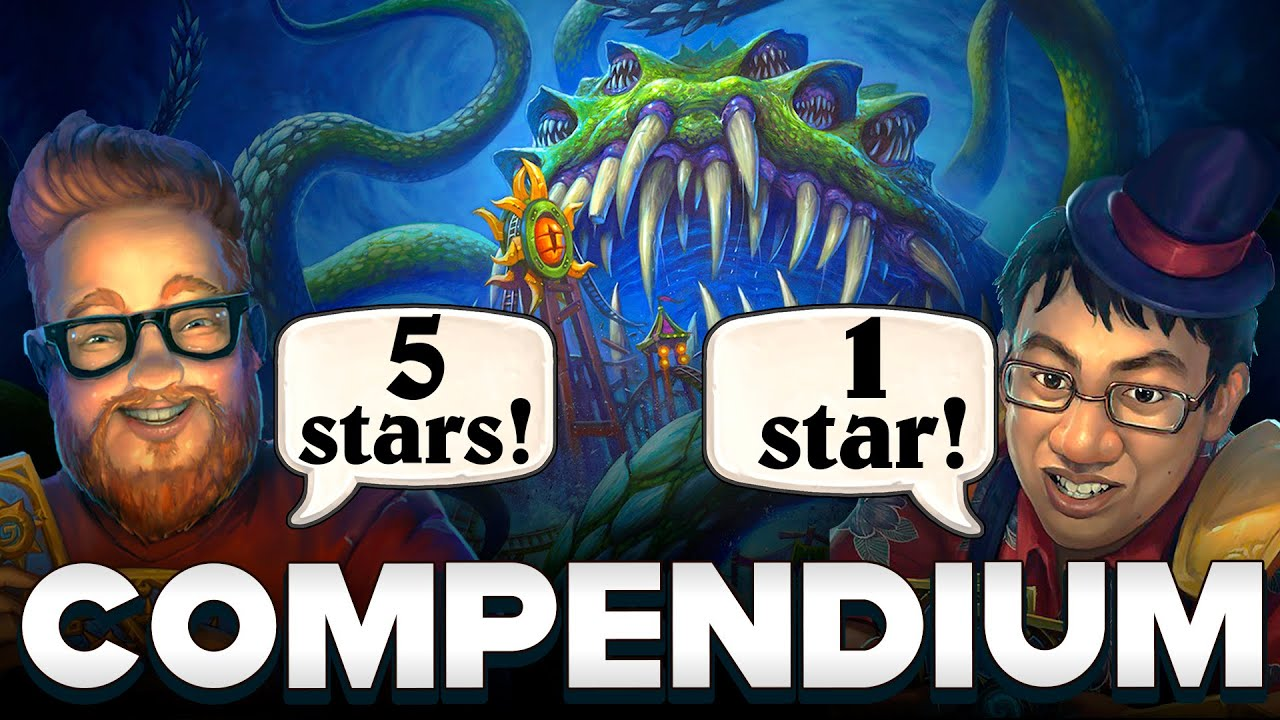 All Darkmoon Faire Cards Review in 10 minutes. Compendium: Trump vs RegisKillbin | Hearthstone