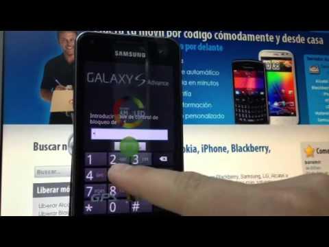 Liberar Samsung Galaxy S Advance - i9070 de Movistar y otras