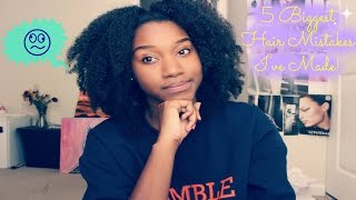5 Biggest Hair Mistakes I've Made!