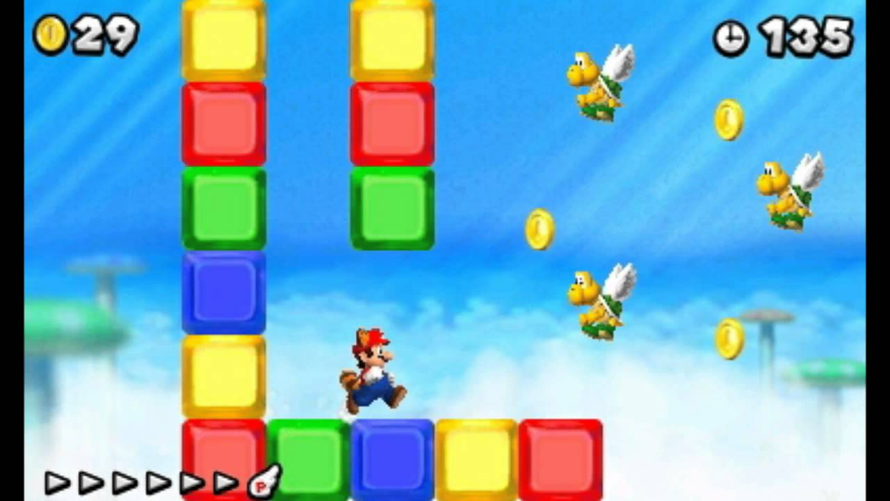 New Super Mario Bros 2 Secret Exit Guide