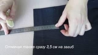 видео Как подшить низ брюк | Красиво шить не запретишь!