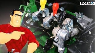 Pneumatyka hamulcowa POLMO do maszyn rolniczych (hamulce przyczepa rolnicza, Ursus, Jacek Mocny)