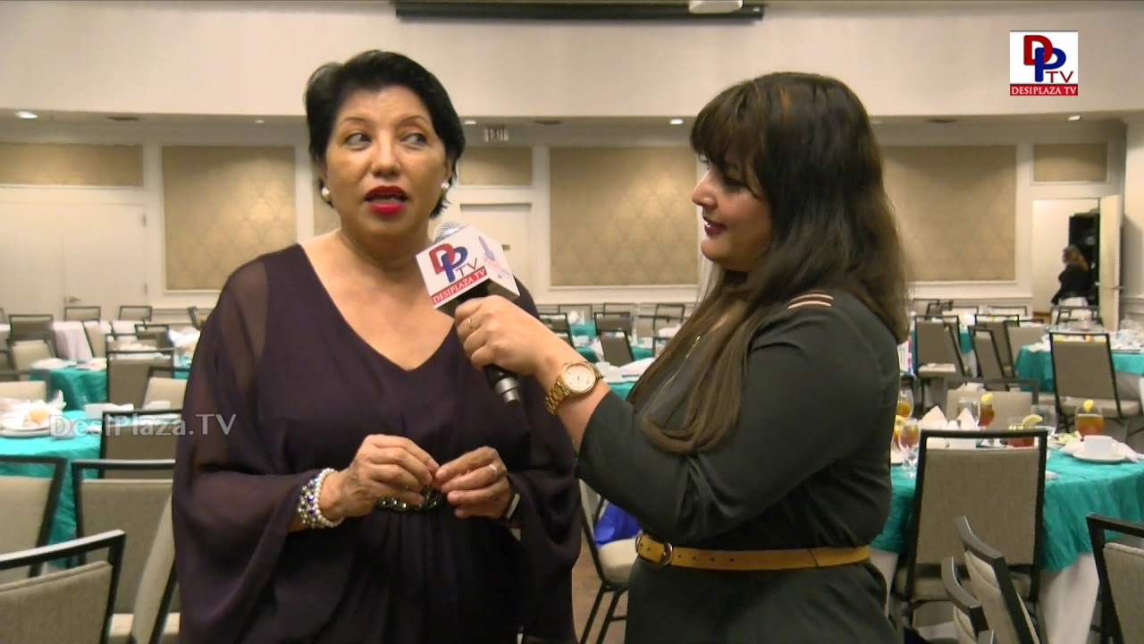 Rebecca Aguilar, MC for Immigrants Journey Awards 2018 speaks to DesiplazaTV | #IJAwards2018