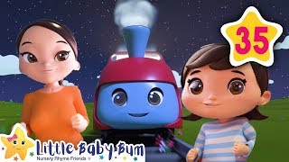 Wheels On The Train | Little Baby Bum | Baby Songs & Nursery Rhymes | Learning Songs For Babies
