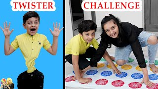 TWISTER CHALLENGE | Comedy Family Challenge | Aayu and Pihu Show