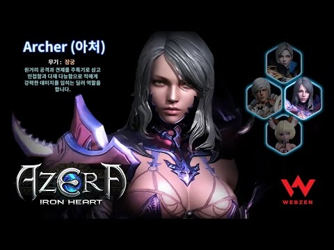 Azera: Iron Heart - Character Creation - CBT - Android On PC - Mobile - KR