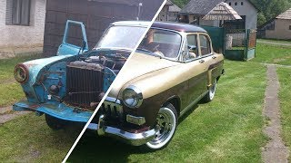 "GAZ 21 ""Volga""  Restoration Slideshow - Start to Finish by 2apples"