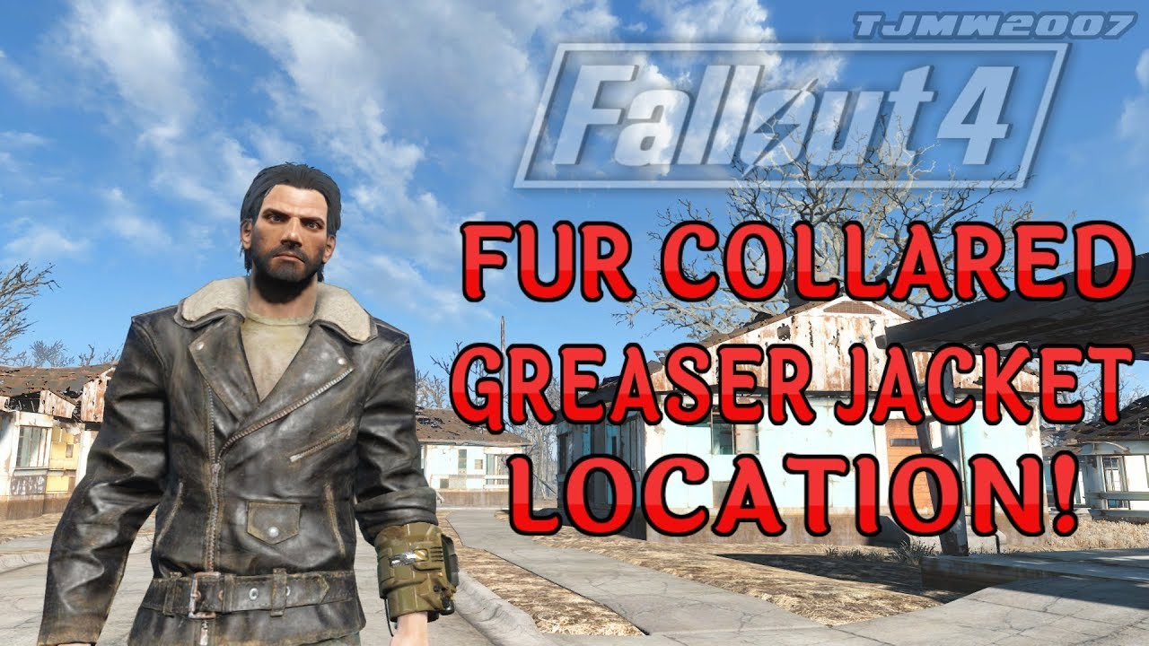 Fallout 4 Fur Collared Greaser Jacket Location Xb1 Youtube