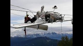 Pilot miraculously cheats death after crashing plane into ski lift - Today News