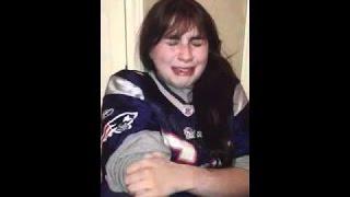 NFL PATRIOT FANS CRIES AFTER LOSS TO DENVER BRONCOS