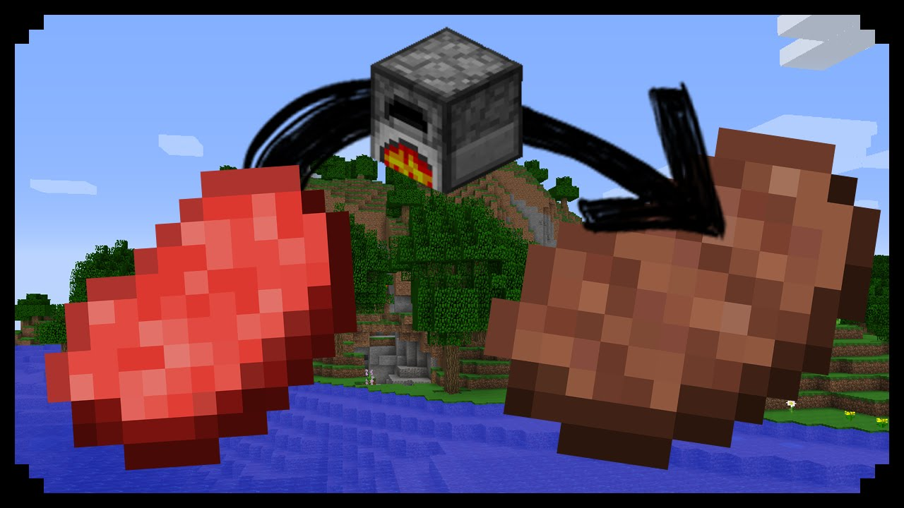 Minecraft: How to make an Automatic Furnace - YouTube