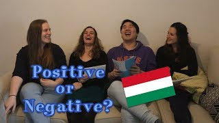 Positive or Negative? Hungarian Adjectives