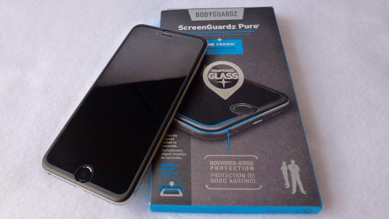 BodyGuardz ScreenGuardz Pure with Crown for iPhone 6 Plus: Review ...