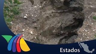 Grietas de Lomas de la  Primavera siguen abiertas | Noticias de Jalisco