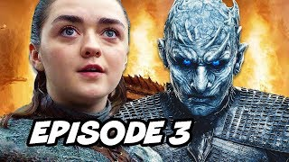 Game Of Thrones Season 8 Episode 3 - TOP 10 WTF and Easter Eggs