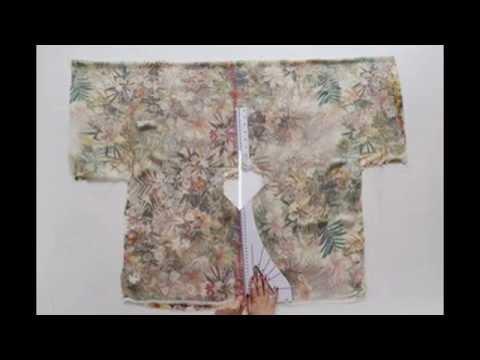 Tự May áo Kimono Sành điệu Dạo Phố