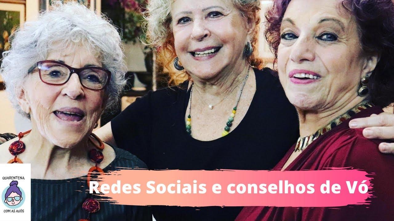 avos 92 quarentena  redes sociais e conselhos de vó