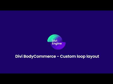 BodyCommerce Custom Loop Layout thumbnail