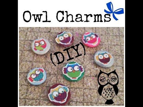 Owl Craft Wk!~(DIY) Owl Charms