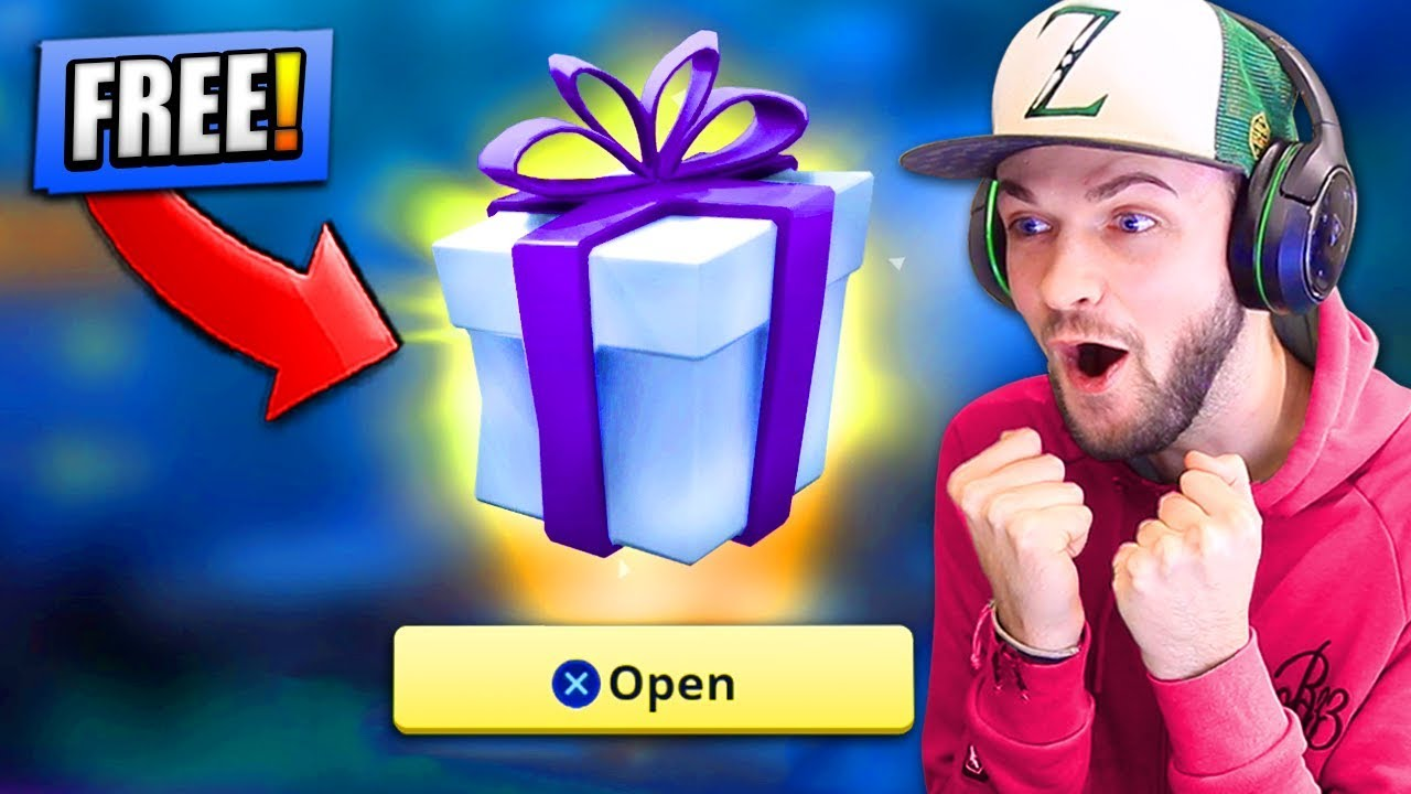 *FREE* PRESENT from EPIC GAMES - WHAT'S INSIDE ...