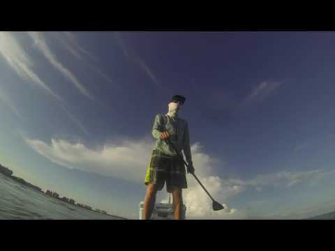 GoPro Fly Fishing on SUP Paddle Boards in Florida