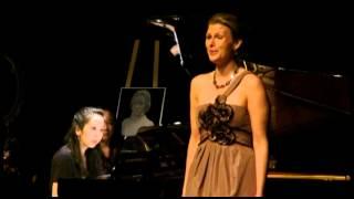 VICTOR HUGO SONGS - FRANZ LISZT - Eve Rachel McLeod, Soprano, Angela Park, piano