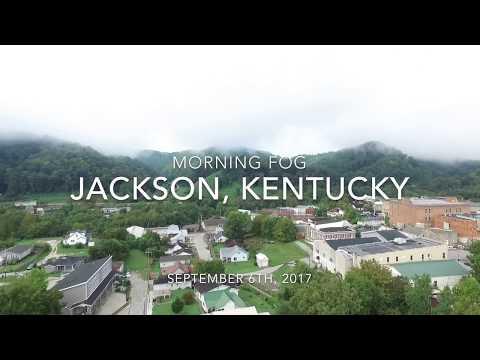 Jackson, Kentucky: Morning Fog