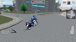 Traffic Cop Simulator 3D - Gameplay Android & iOS game - Police Traffic Game