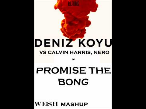 Deniz koyu vs Calvin Harris, Nero - Promise the bong (WESH mashup)