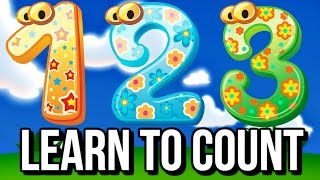 COUNT TO 10! Counting Song for Kids  | EDUCATIONAL Nursery Rhymes & Baby Songs Little Big Kids TV
