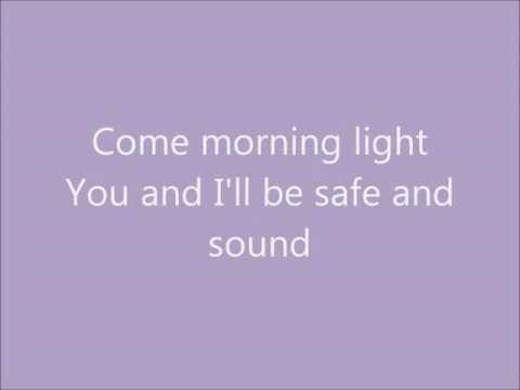 Safe and Sound: Taylor Swift Ft. The Civil Wars(with lyrics)
