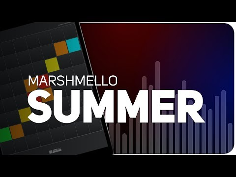 Playing SUMMER | MARSHMELLO on SUPER PADS LIGHTS - KIT CARAMELO