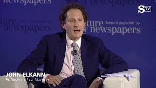 "John elkann: ""how to sustain the freedom of newspapers"""