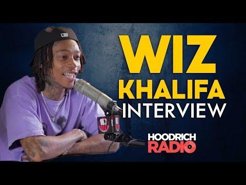 DJ Scream - Wiz Khalifa Hoodrich Radio Interview with DJ Scream