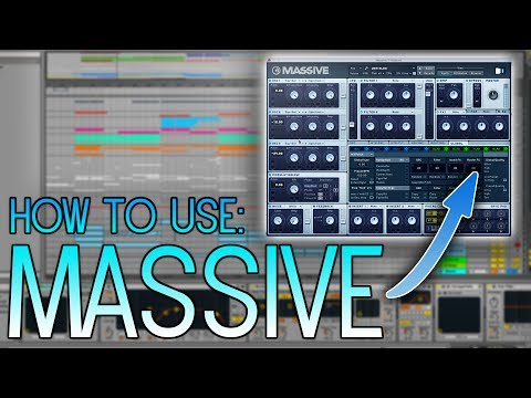 How to use Native Instruments - Massive // Music Production Tutorial