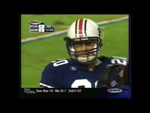 Florida Gators 20 @ Auburn Tigers 23 (10-13-2001)  College Football