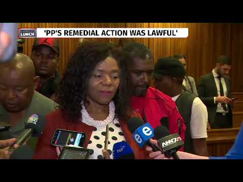 Thuli Madonsela reacts to judgment on State Capture remedial action